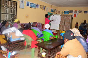 The Water Project: Katuluni Community -  Mapping