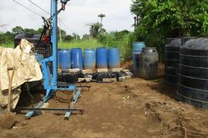 The Water Project: Benke Community, Waysaya Road -  Drill Rig