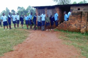 The Water Project: Shamalago Primary School -  Latrines