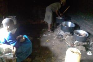 The Water Project: Chebunaywa Primary School -  School Kitchen