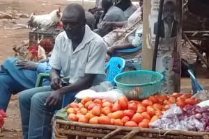 The Water Project: Elukani Community, Ongari Spring -  Local Market