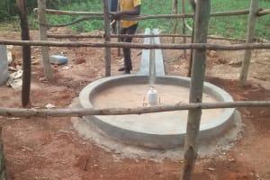The Water Project: Maiha-Kayanja Community -  Well Pad