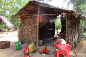 The Water Project: Kipolo Community -  Kitchen