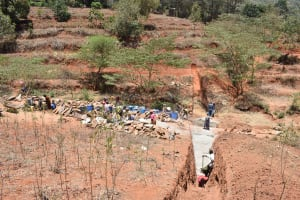 The Water Project: Kyumbe Community -  Excavation