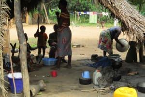 The Water Project: Kolia Community -  Kitchen