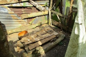 The Water Project: Kipolo Community -  The Latrine