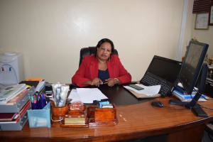 The Water Project: Kaani Lions Secondary School -  Marysella James Principal