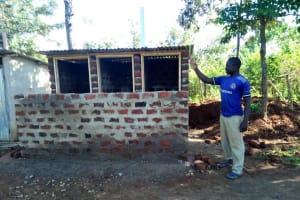 The Water Project: Iyenga Primary School -  Latrine Construction