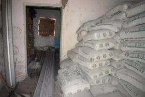 The Water Project: Ilinge Primary School -  Construction Materials