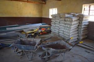 The Water Project: Kivani Primary School -  Construction Materials