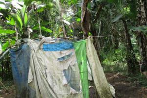 The Water Project: Kolia Community -  Latrine