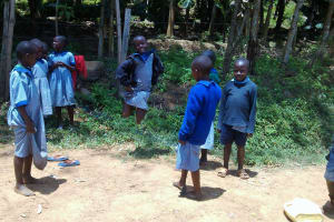 The Water Project: JM Rembe Primary School -  Students Playing