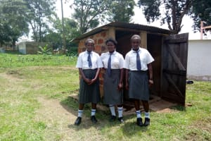 The Water Project: Imbale Secondary School -  Latrines