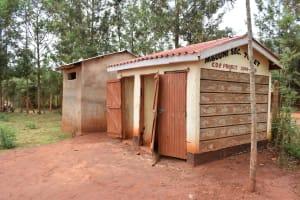 The Water Project: Mbuuni Secondary School -  Latrines