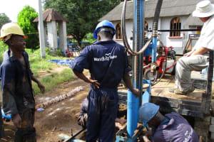 The Water Project: Benke Community, Waysaya Road -  Drilling