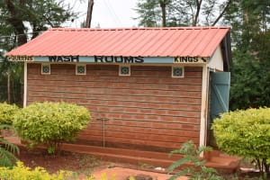 The Water Project: Kaani Lions Secondary School -  Staff Latrines