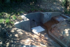 The Water Project: Luyeshe Community, Simwa Spring -  Clean Water