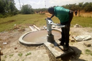 The Water Project: Shisango Secondary School -  Pump Installation
