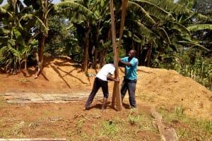 The Water Project: El'longo Secondary School -  Latrine Construction
