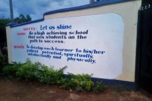 The Water Project: Shanjero Secondary School -  School Entrance