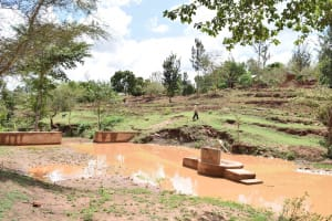 The Water Project: Kathuni Community A -  Hand Dug Wells