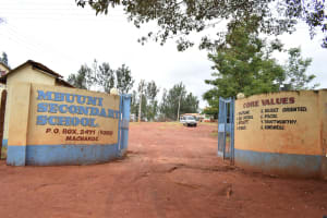 The Water Project: Mbuuni Secondary School -  School Compound