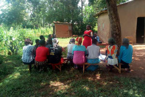 The Water Project: Luyeshe Community, Simwa Spring -  Training