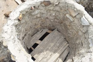 The Water Project: Mitini Community A -  Well Construction