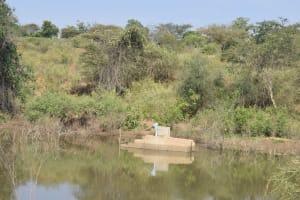 The Water Project: Katunguli Community A -  Well Construction