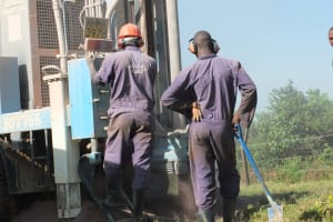 The Water Project: Shisango Secondary School -  Drilling