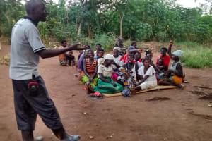The Water Project: Ejinga-Ayikoru Community -  Simon Mugume Facilitating The Meeting