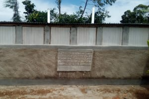 The Water Project: Gidagadi Primary School -  Finished Latrines