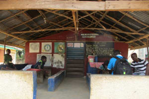 The Water Project: Tholmosor Community, Alpha Dabola Road -  Community Activities