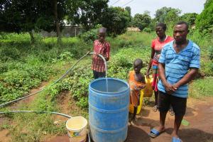 The Water Project: Benke Community, Waysaya Road -  Yield Testing