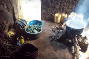 The Water Project: Esibeye Primary School -  Cooking Lunch