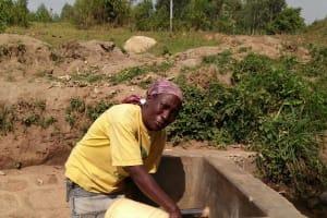 The Water Project: Kakubudu Community, Fred Lagueni Spring -  Clean Water