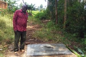 The Water Project: Matsakha A Community, Kombwa Spring -  Sanitation Platform
