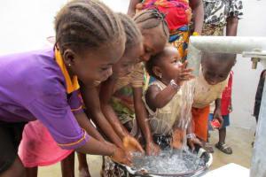 The Water Project: Benke Community, Waysaya Road -  Clean Water