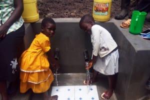 The Water Project: Matsakha A Community, Kombwa Spring -  Clean Water