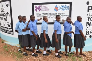 The Water Project: Ikaasu Secondary School -  Clean Water