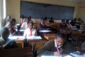 The Water Project: Shibale Secondary School -  Students In Class