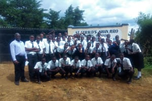 The Water Project: Shanjero Secondary School -  Group Picture
