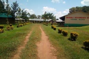 The Water Project: Bushili Secondary School -  School Compound