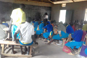 The Water Project: Chebunaywa Primary School -  Students In Class