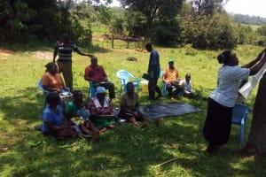 The Water Project: Matsakha A Community, Kombwa Spring -  Training