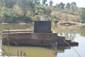 The Water Project: Katunguli Community A -  Pump Installation