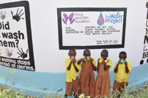 The Water Project: Kivani Primary School -  Clean Water