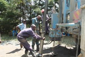 The Water Project: Chepkemel Community -  Drilling