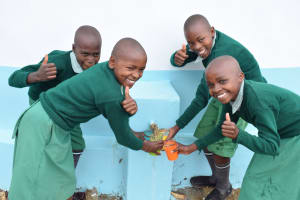The Water Project: Ilinge Primary School -  Clean Water