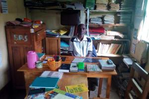 The Water Project: Esibeye Primary School -  Headteacher